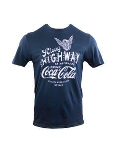 Coca-Cola Unisex Along Highway Tee