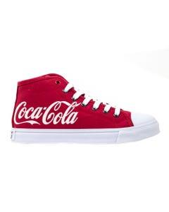 Coca-Cola Script Women's High Top Shoe