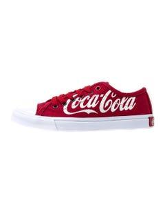 Coca-Cola Script Women's Low Top Shoe