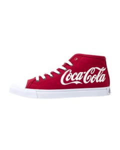 Coca-Cola Script Men's High Top Shoe