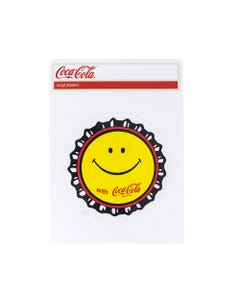 Coca-Cola Smiley Bottlecap Sticker