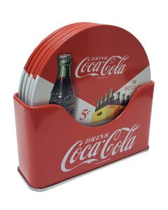 Coca-Cola Coaster Set/4