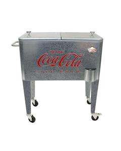 Coca-Cola Galvanized Cooler - 60QT