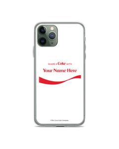 Coca-Cola Share a Coke Ribbon Design Phone Case