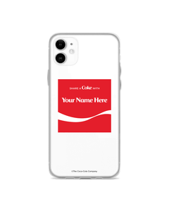 Coca-Cola Arden Square Design Phone Case