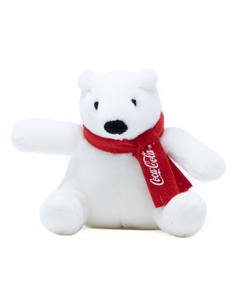 Coca-Cola Polar Bear Plush Magnet