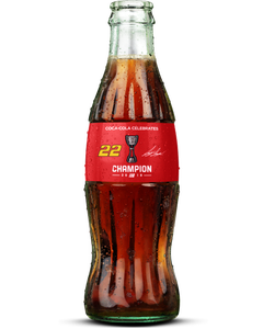 Joey Logano NASCAR® Championship Coca-Cola Bottle