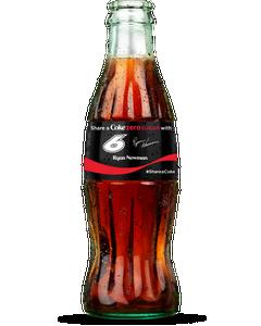 Ryan Newman NASCAR Coke Zero Sugar Bottle