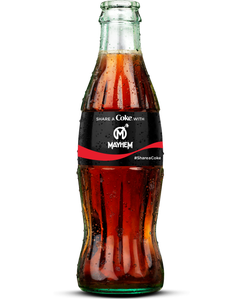 Florida Mayhem Coca-Cola Bottles-Coke Zero Sugar