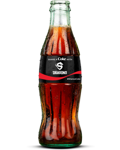 Shanghai Dragons Coca-Cola Bottle-Coke Zero Sugar