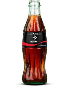 Toronto Defiant Coca-Cola Bottle-Coke Zero Sugar