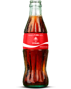 Vancouver Titans Coca-Cola Bottle