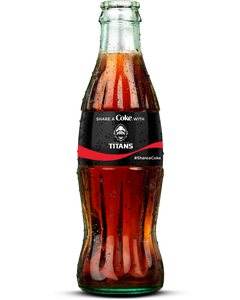 Vancouver Titans Coca-Cola Bottle -Coke Zero Sugar