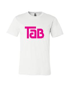 Customize Your Own- Tab Logo Design-White-S-Unisex Crew