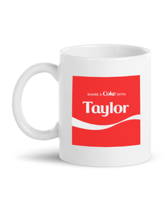Customize Your Own - Share A Coke Mug-White