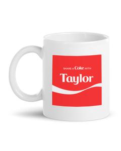 Customize Your Own - Share A Coke Mug