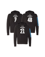 Custom Powerade Number Hoodie