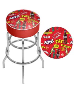 Coca-Cola Pop Art Bar Stool