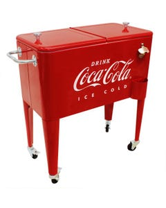 Coca-Cola 60Q Embossed Cooler