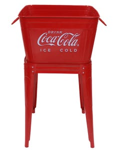Coca-Cola Red Wash Tub Set - 42QT