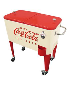 Coca-Cola Cream Insulated Cooler - 60QT