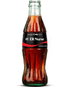 #1 ER Nurse Bottle