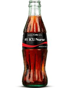 #1 ICU Nurse Bottle