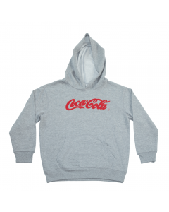 Coca-Cola Recycled Bottles Script Youth Hoodie