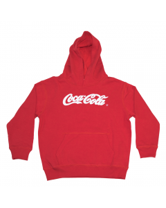 Script Youth Hoodie Red XS