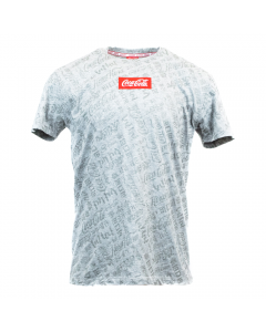Coca-Cola Foreign Language All Over Print Men's Tee