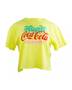 Coca-Cola Women's Palm Cropped Tee