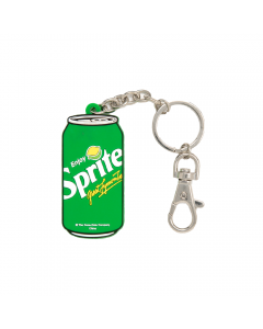 Sprite Can Silicone Keychain