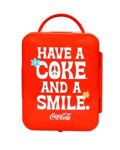 Coca-Cola Smile 4 Liter Thermoelectric Cooler