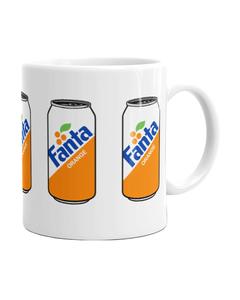 Fanta Can Design Mug - 11 oz.