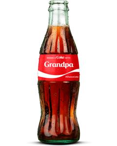 """""""Grandpa"""" Coca-Cola Bottle"""