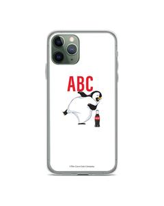 Coca-Cola Initial Penguin Design Phone Case
