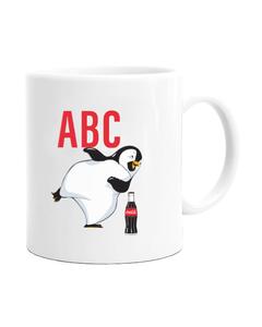 Customize Your Own - Initial Penguin Design Mug - 11 oz.