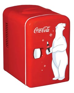 Coca-Cola Polar Bear Mini Fridge