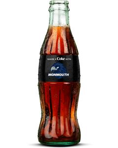 Monmouth Coca-Cola Bottle-Coke Zero Sugar-Logo