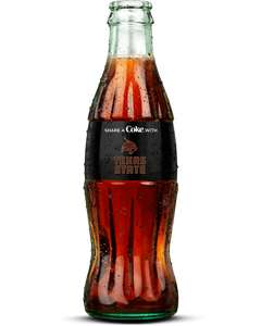 Texas State Coca-Cola Bottle - Coke Zero - Logo