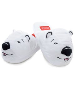 Coca-Cola Polar Bear Head Slippers