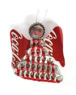 Coca-Cola Pull Tab Angel Ornament - Large