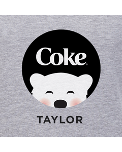 Customize Your Own - Polar Bear Emoji Black Coke Design