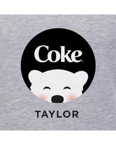 Customize Your Own - Polar Bear Emoji Black Coke Design