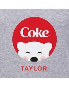Customize Your Own - Polar Bear Emoji Red Coke Design
