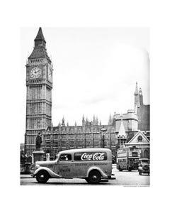 Coca-Cola Clock Tower Art Print Poster
