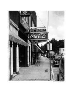 Coca-Cola Drugstore Art Print Poster