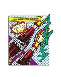 Coca-Cola Pop Art Print Poster