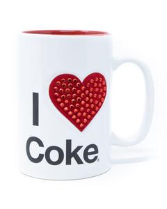 Coca-Cola I Love Coke Jeweled Mug - 16oz