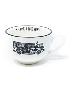 Coca-Cola Chalk Talk Truck Soup Mug - 24oz